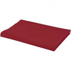 tissu rouge 1m x 145 cm