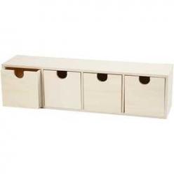 boite a tiroirs h 92x347 cm