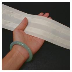 fronceur tergal plis automatiques en 70mm 50m