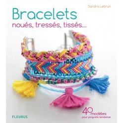 bracelets noues tresses tisses par sandra lebrun