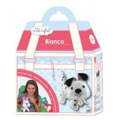 kit couture en feutrine chien bianco