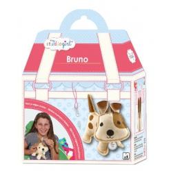 kit couture en feutrine chien bruno