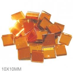 mosanquemiroirorjaune10x10mm