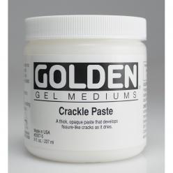 pate de structure opaque a craqueler golden 236 ml
