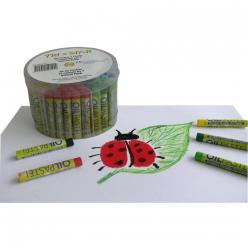 tristar pot de 84 pastels a l huile o 9 mm