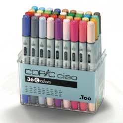 set copic ciao c  36 couleurs