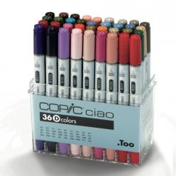 set copic ciao d  36 couleurs