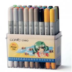 set copic ciao  36 couleurs manga