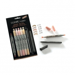set 51 copic ciao teintes chairs avec multiliner