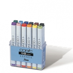 set copic marker  12 couleurs