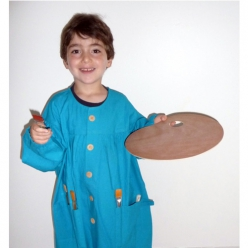 blouse de peinture corot modele enfant