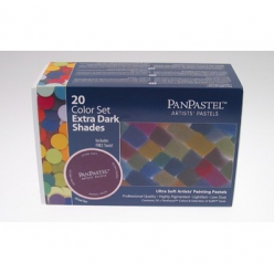 panpastelsetde20couleursoutils teintesultra sombres