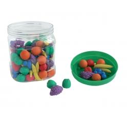 fruitsatrierparcouleur bocalde108picesenplastique
