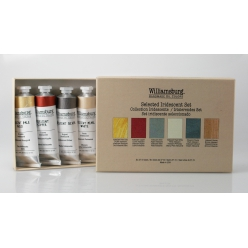 Set WILLIAMSBURG Collection Les Iridescents - 6 couleurs 37ml