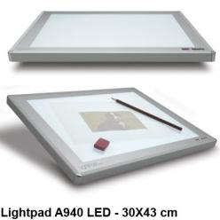 table lumineuse lightpad a940 led 30 x 43 cm