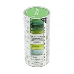 panpastelsetde10couleursoutils verts