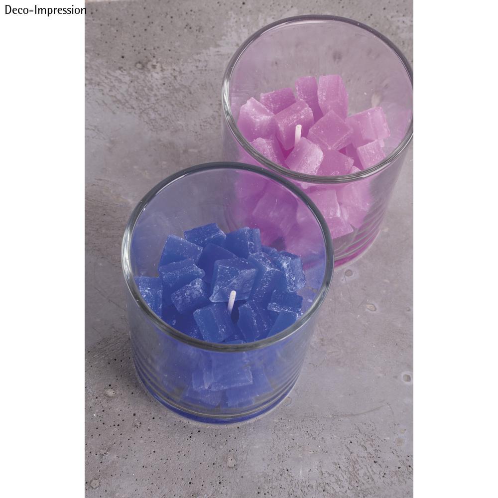 cire à bougies en cube