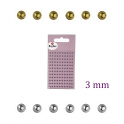 demi perlesenplastique3mmautocollants