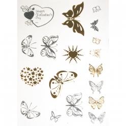 tatoosbijoux papillons