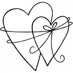tampon bois unis dans l amour 5x5cm
