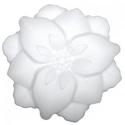 fleur en polystyrene 135 cm plat