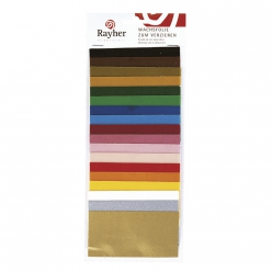 Assortiment feuille de cire couleurs assorties