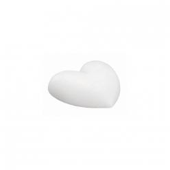 coeur en polystyrene plat 20 cm