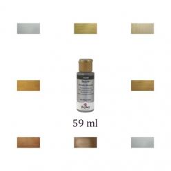peinture metallique de rayher 59 ml