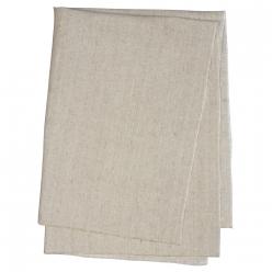 aspect lin coupon de tissu non ourle 50x70cm