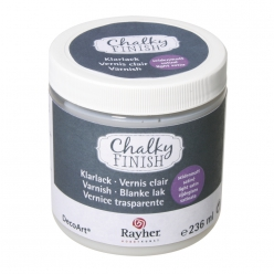 chalky finish vernis clair satine 236 ml