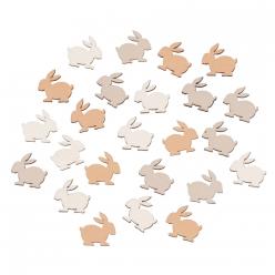 miniatures petit lapins 17x16cm