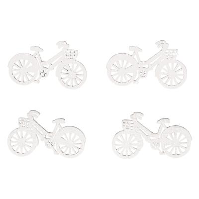 miniatures en bois bicyclette 4x2cm