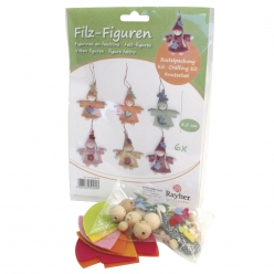 Kit Figurines en feutrine, 6 pces