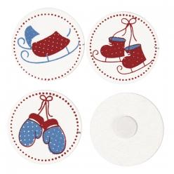 miniatureenbois snowcookies