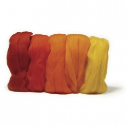 laine cardee merino extra fine 18 mic teintes rouges