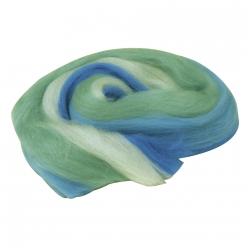 laine cardee merino nuno teintes bleu clair