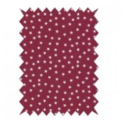 coupon coton etoiles 100x70cm