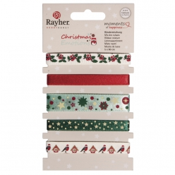 Assortiment de rubans  Christmas Emotions