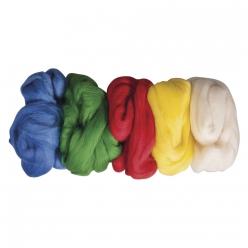 laine vierge laine cardee lot de coloris de base