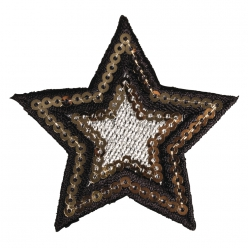 motif thermocollant star 6cm o