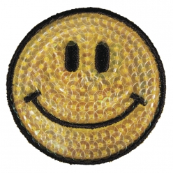 motif thermocollant smile 5cm o
