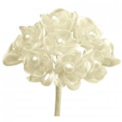bouquet de fleurs avec perles 10 cm