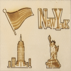 miniatures en bois new york