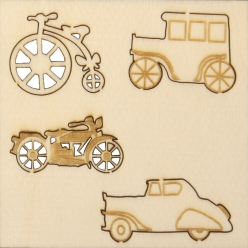 miniatures en bois vehicules