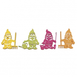 miniatures en bois nain