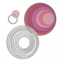 framelits sizzix kit de gabarits cercles