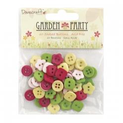 boutons garden party 1cm o