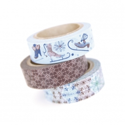 Masking tape Kit Patins-friandises 15 mm