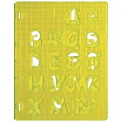 gabaritdedcoupeshapecutter majusculeschiffres
