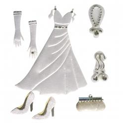 miniatures adhesives mariage